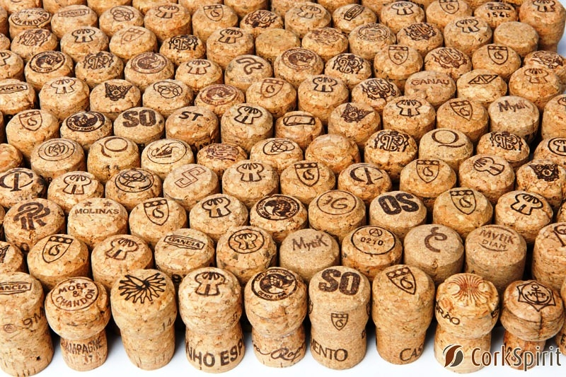 Used Champagne Corks - Wide Variety