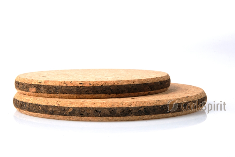 Cork Hot Pad - Round