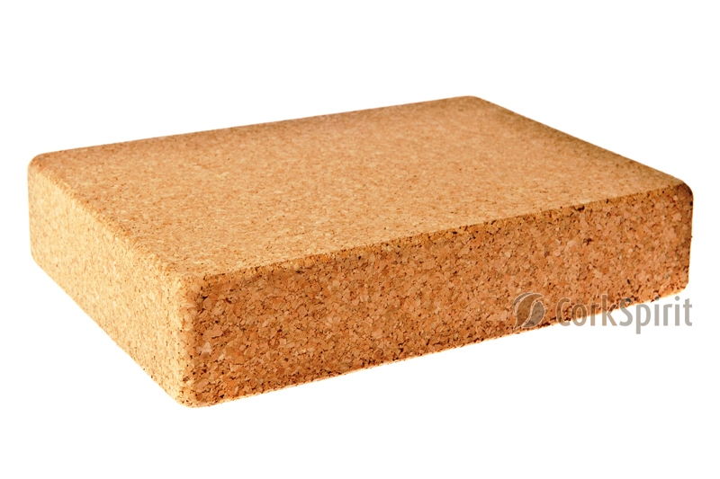 Cork Yoga Block Brick 305x205x50mm