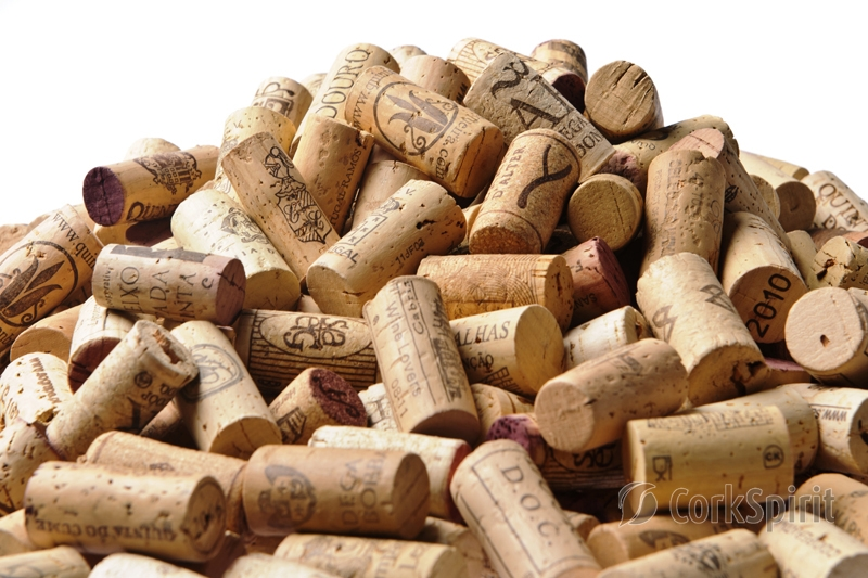 Us00200 Used Wine Corks For Place Card Holders Used Wine Corks