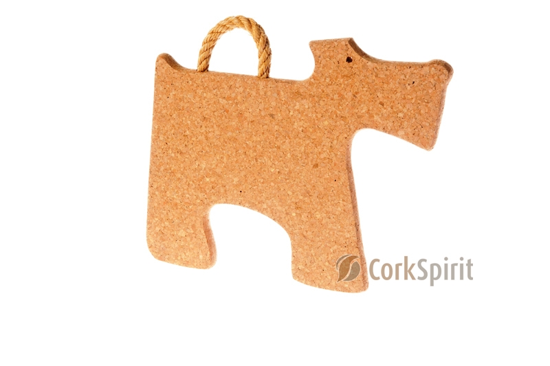 Cork Trivet with Rope / Hot Pot Stands / Tablemats - Dog
