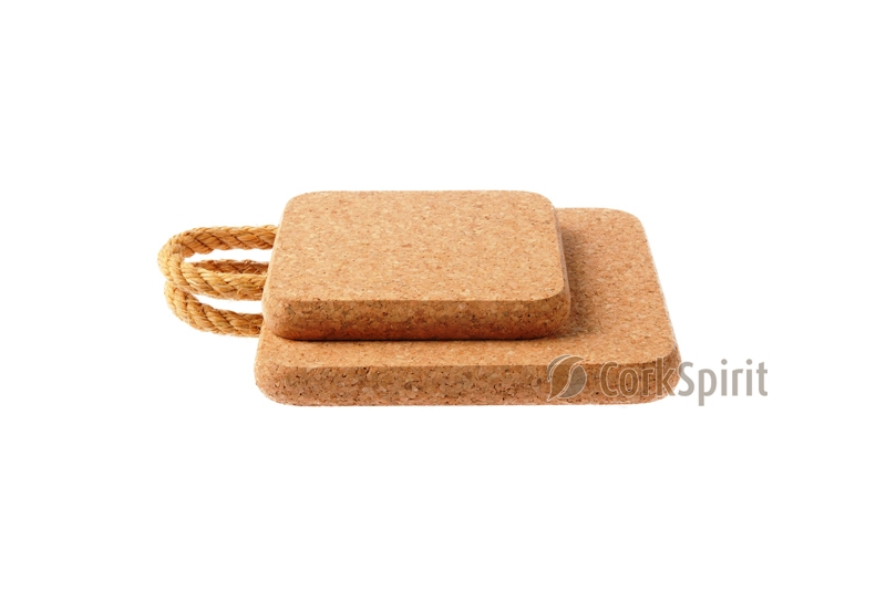 Cork Trivet with Rope / Hot Pot Stands / Tablemats