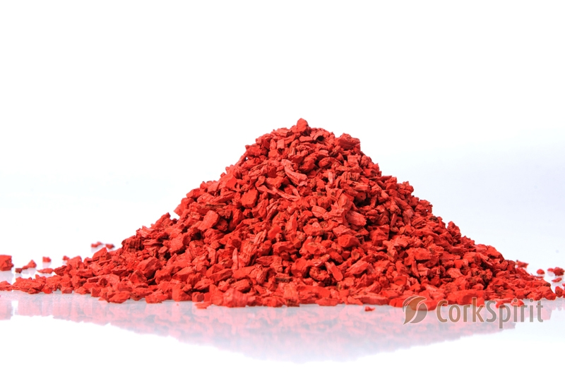 Red Cork Grain Cork Powder Cork Dust Cork Granules