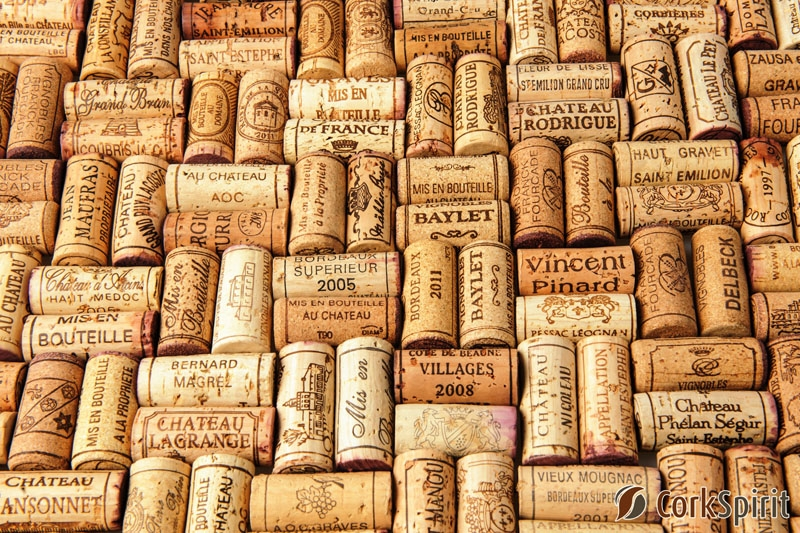 Used Wine Corks - French Wines
