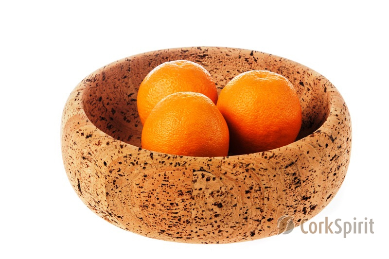 Natural Cork Bowl