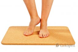 Cork Bath Shower Sauna Mat