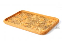 Rectangular Marble Cork Tray