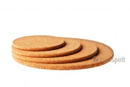 Round Cork Hot Pad / Round Cork Trivet / Round Hot Pot Stands
