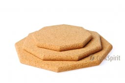 Cork Hot Pad - Octagon Shape