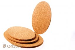 Oval Cork Hot Pad / Oval Cork Trivet / Oval Hot Pot Stands