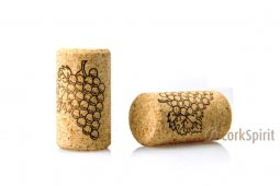 Agglomerated Wine Corks 44-24mm