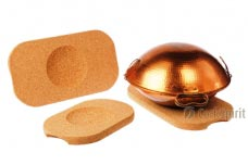 Rectangle Cork Hot Pad for Wok or Cataplana