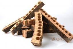 Natural Cork Pieces for Crafts