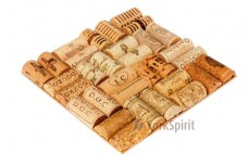 Used Wine Corks Hot Pad / Trivet - Unique Gift