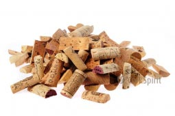 Pre Cut Used Natural Wine Corks Halves