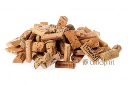 Pre Cut Unused Never Used Natural Wine Corks Halves - Free Shiping